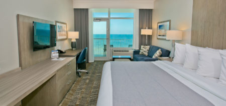 Best Western Premier Tides-Hotel-Orange-Beach-AL-King-Bed-Beachfront Hotel Room